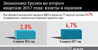 Экономика Грузии 2017: взлеты и падения