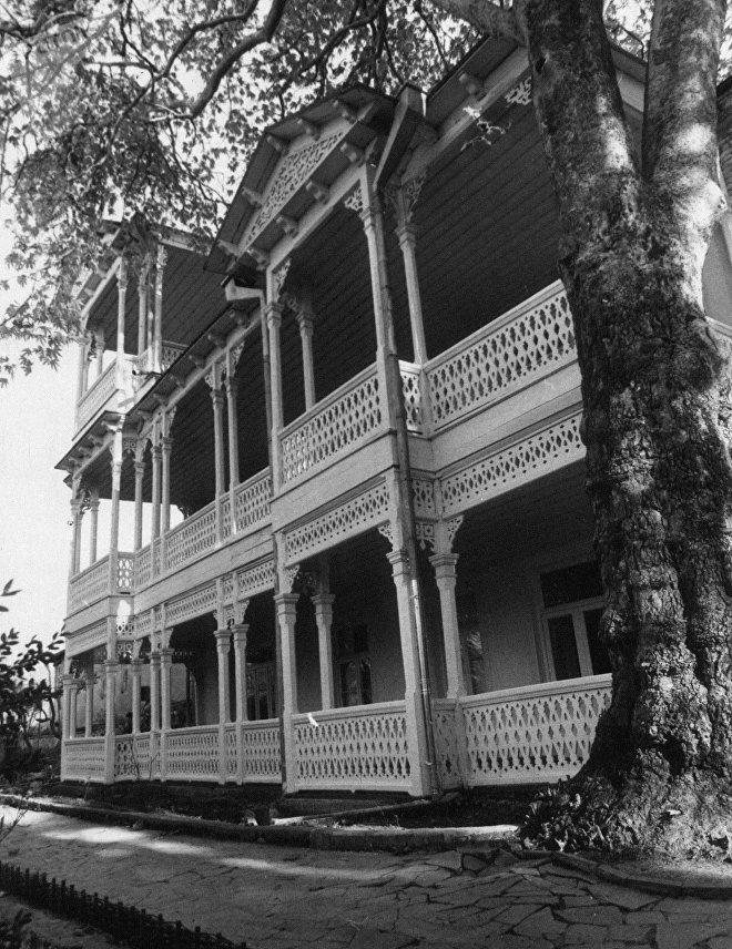 Дом грузинского писателя Илья Григорьевича Чавчавадзе