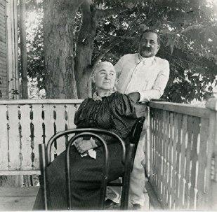 Илия Чавчавадзе и Ольга Гурамишвили