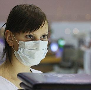 Меры предосторожности для защиты от вируса на территории аэропорта Шереметьево-1