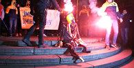 Националисты сожгли чучело Ленина в Киеве