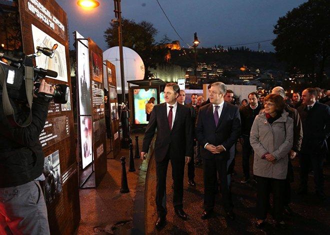 Германия подарила Грузии фрагмент Берлинской стены