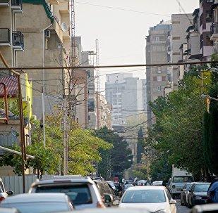 Жилые дома на улице Мицкевича в Сабурталинском районе Тбилиси