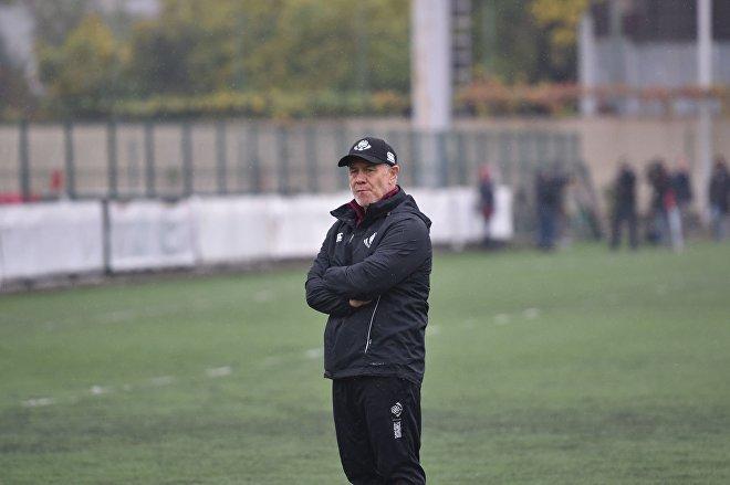 Главный тренер сборной Грузи по регби Милтон Хейг