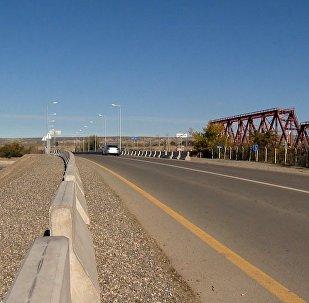 Новый мост в Агстафинском районе