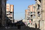 Последствия землетрясения на границе Ирака и Ирана