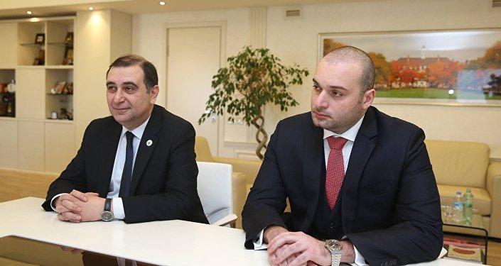 Михаил Чхенкели и Мамука Бахтадзе