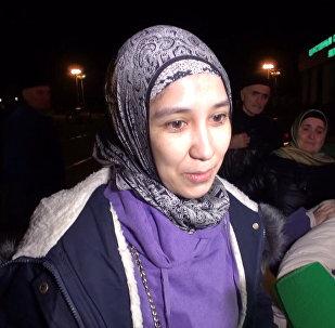 В Грозный доставили самую большую группу женщин и детей, спасенных в Сирии