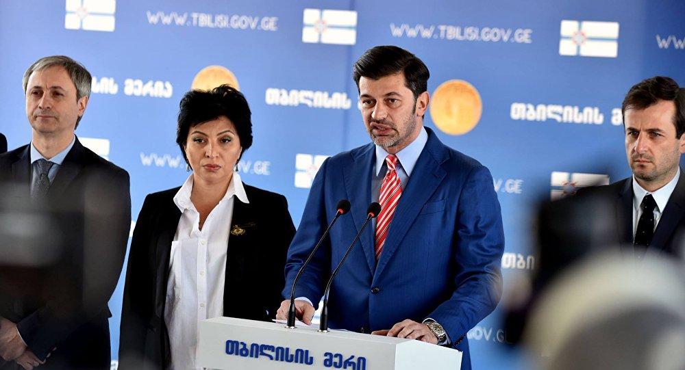 Мэр Тбилиси Каха Каладзе