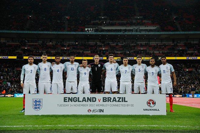 Футбольный матч Англия - Бразилия