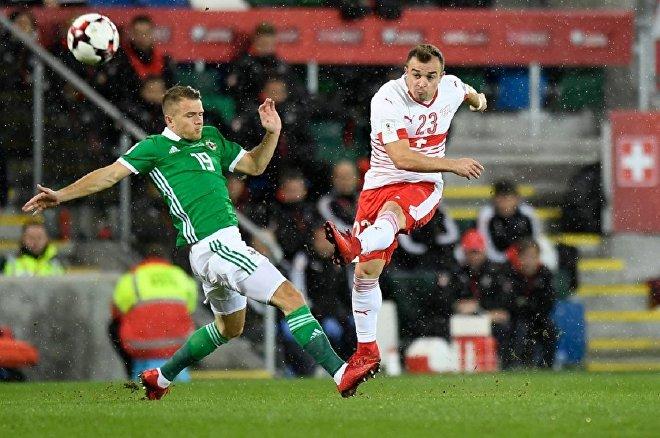 Стыковой матч между Северной Ирландией и Швейцарией