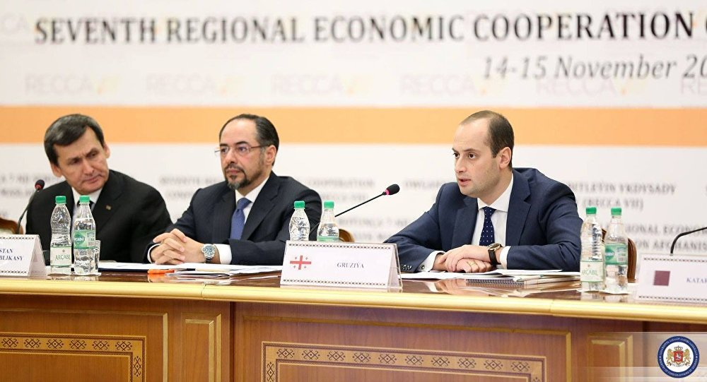 Михаил Джанелидзе на международной конференции по вопросам экономического развития Афганистана