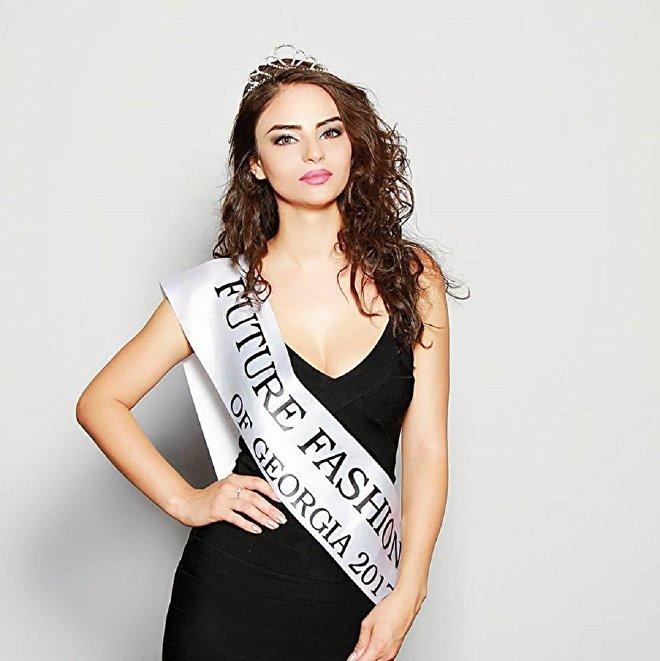 Грузинская модель агентства Катрин Мери Тариелашвили
