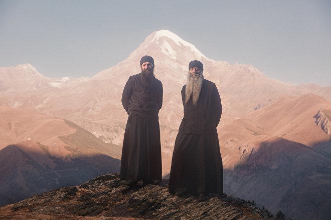 The Fathers of Ioane Natlismcemeli monastery