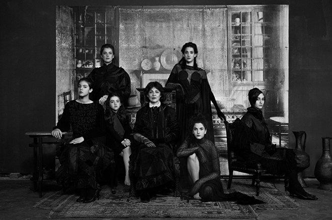 Four Generations of Georgian Women