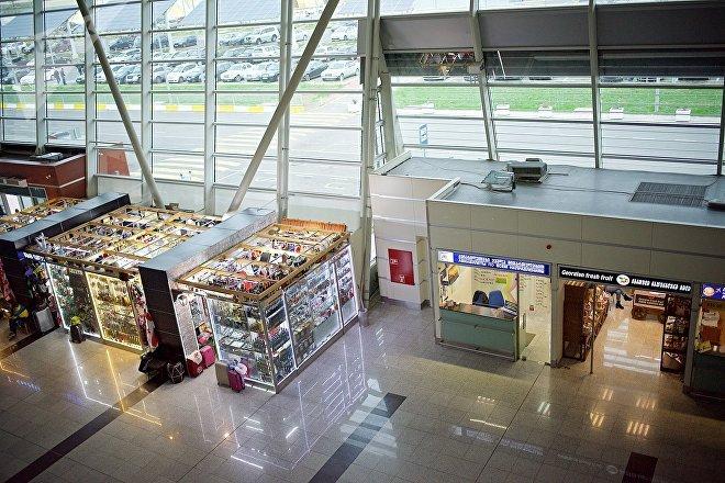 Зал отлета - Тбилисский международный аэропорт