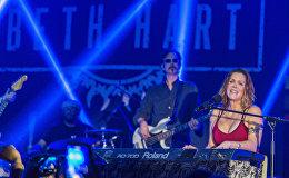 Американская блюз-певица Бет Харт дала концерт в Тбилиси