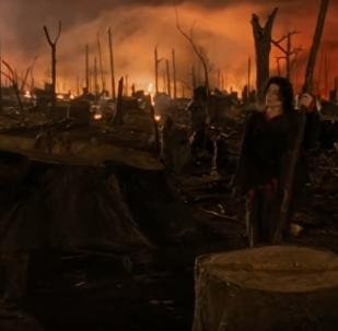 """Earth Song - მაიკლ ჯეკსონის """"აკრძალული"""" კლიპი აშშ-ში"""