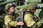 Военные учения в Ленинградской области