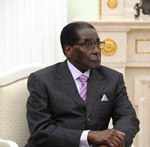 ზიმბაბვეს პრეზიდენტი რობერტ მუგაბე