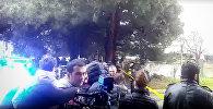 Спецоперация в Тбилиси: кадры с места боя с террористами