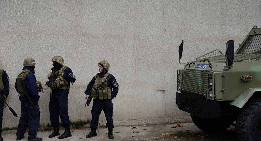 ВТбилиси подозреваемые втерроризме иностранцы открыли огонь поправоохранителям