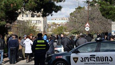 Спецоперация в столице Грузии
