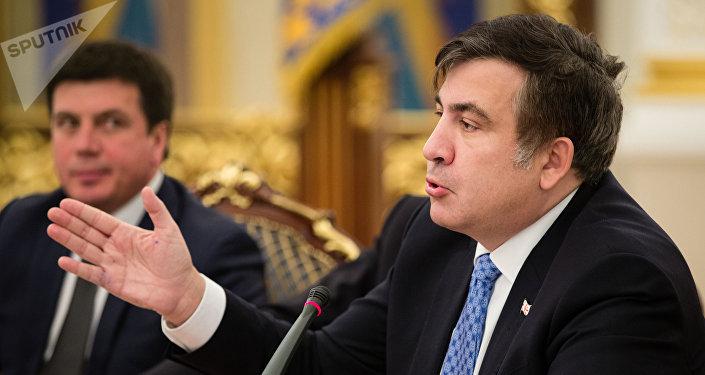 Экс-президент Грузии и бывший губернатор Одесской области Украины Михаил Саакашвили