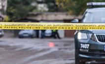 Патрульная полиция на месте преступления