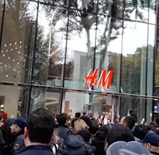 Открытие магазина H&M в Тбилиси