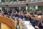 Премьер-министр Грузии Георгий Квирикашвили на саммите в Брюсселе
