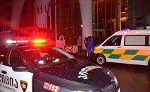 Пожар в батумской гостинице Лео Гранд