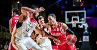 Сборные Грузии и Германии по баскетболу в отборочном матче чемпионата Мира-2019