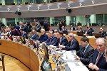 Премьер Грузии Георгий Квирикашвили на саммите Восточного партнерства в Брюсселе