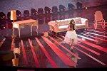 Участница из России Полина Богусевич выступает в финале Детского Евровидения в столице Грузии