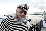 Участник первого московского фестиваля яхт