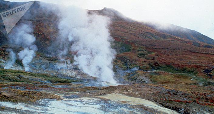 Вулкан Хребет Камбальный