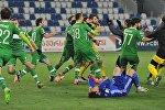 Празднование победы в чемпионате футболистами Торпедо Кутаиси