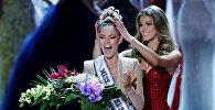 Победительницей ежегодного международного конкурса красоты Мисс Вселенная, финал которого прошел в американском Лас-Вегасе, стала 22-летняя представительница Южно-Африканской республики Деми-Ли Нель-Питерс