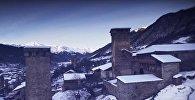 Снег в Сванети