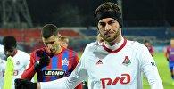 Игрок ФК Локомотив Соломон Кверквелия