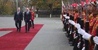 Премьеры Грузии и Молдовы Георгий Квирикашвили и Павел Филип