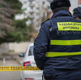 Сотрудник патрульной полиции на месте преступления