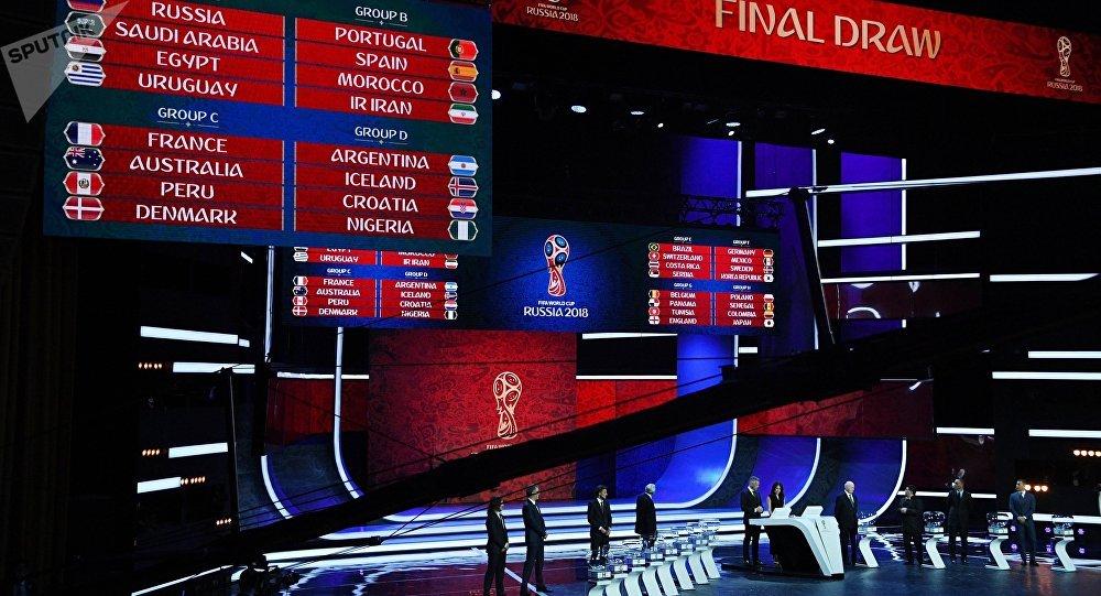 Группы состав мира чемпионат 2018
