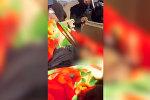 Кадры с телом убитого хуситами экс-президента Йемена
