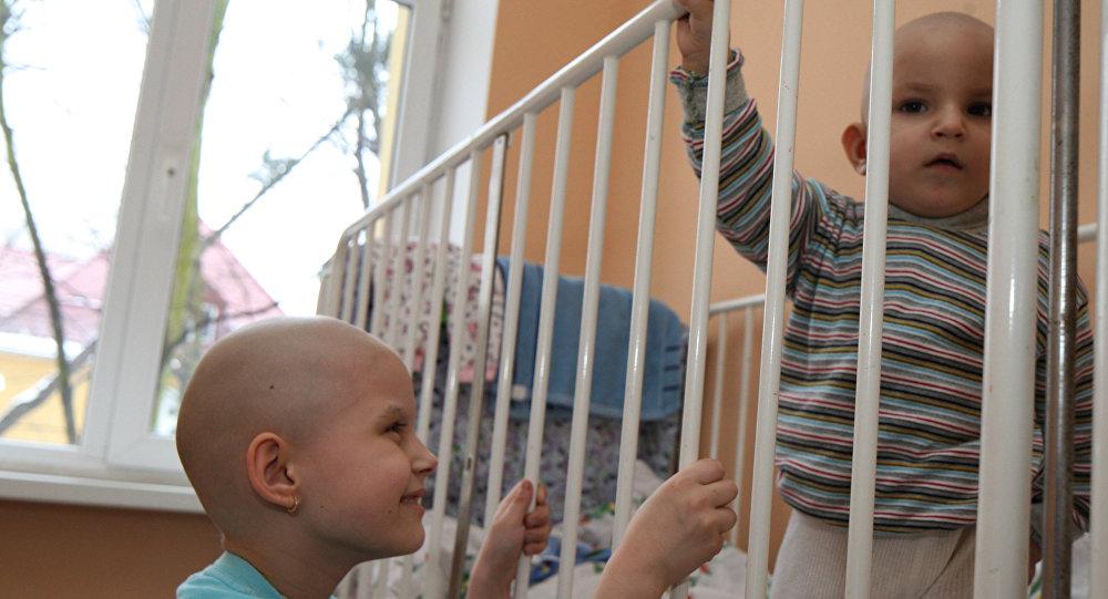 Маленькие пациенты в отделении онкогематологии