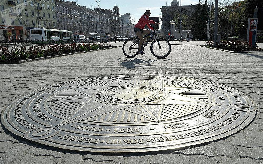 Центральная точка города Ростов-на-Дону
