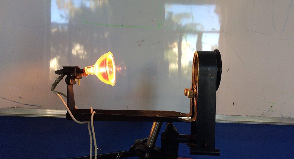 Мозаичный экран для визуализации эффекта Шлирена