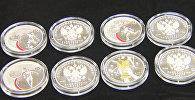 В России выпустили памятные монеты в честь ЧМ-2018 по футболу