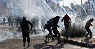 Палестинцы протестуют против объявления Иерусалима столицей Израиля